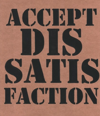 1-Dissatisfaction