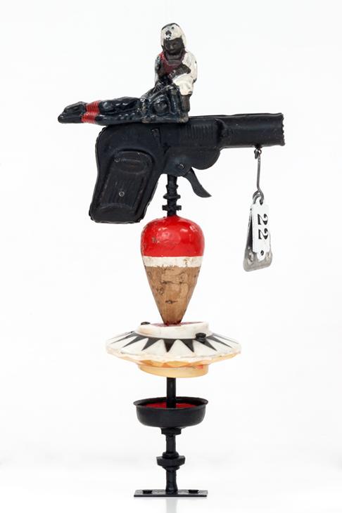 Pistola pocker. Modelo Sanitas_baja